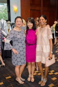 Wendy Chung, Anne Chou and Avril Nunes