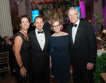 Pam and Steve Daniel, Elizabeth and George Passela