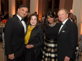 Cody Patel, Betty Tutor, Kusum Patel, Jesse Tutor; Photo by Wilson Parish