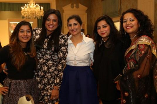 Sejal Dimple Patel, Sema Patel, Preity Bhagia, Girija Bhargava Patel, Ranu Gupta