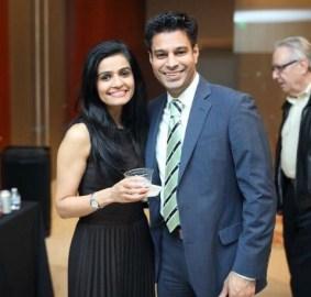Faisal Momin and Asha Dhukka