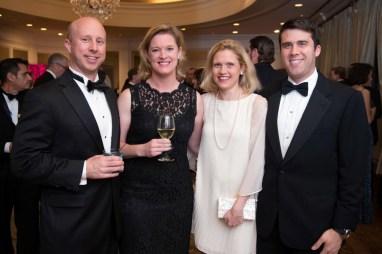 Adam and Ruthie Miller; Elizabeth and Charlie Leykum; Photo by Michelle Watson