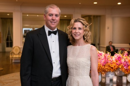 Jason and Courtney Fertitta; Photo by Michelle Watson