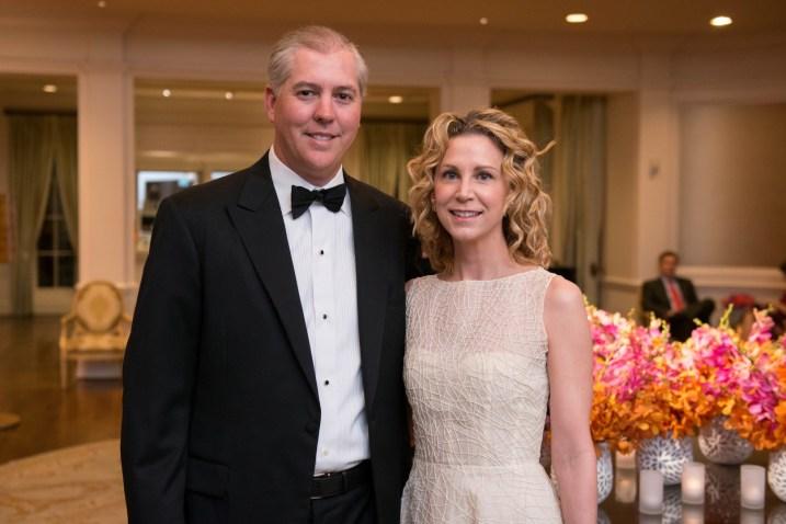 Jason and Courtney Fertitta; Photo by Michelle Watson