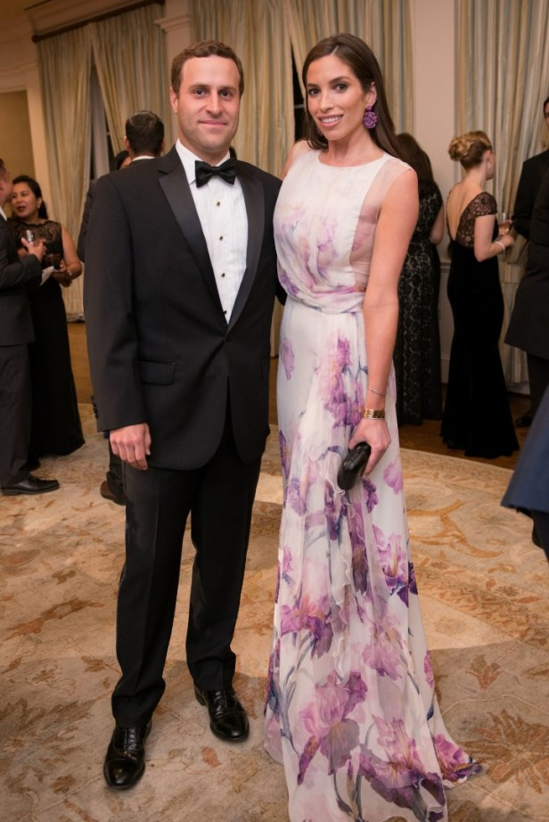 Jonathan Schnitzer; Lily Morris; Photo by Michelle Watson