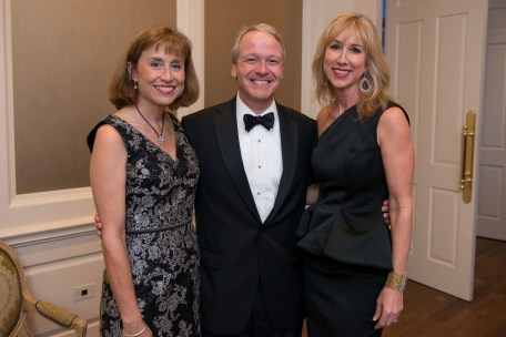 Julie and Marc Boom; Caroline Finkelstein; Photo by Michelle Watson