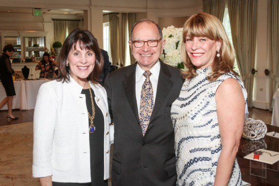 Ellen Susman (honoree), Ambassador Edward Djerejian (guest speaker), Franci Neely (event chair)