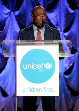 HOUSTON, TX - MAY 24: Mayor of Houston Sylvester Turner speaks at the fourth annual UNICEF Audrey Hepburn® Society Ball on May 24, 2017 in Houston, Texas. (Photo by Bob Levey/Getty Images for UNICEF)