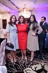 Anu Reddy, Zeenat Mitha and Savreet Singh