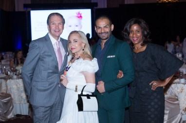 John Jamail, Jr., Dr. Carolyn Farb, Todd Ramos and Joy Sewing