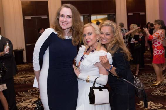 Landa Hauser, Dr. Carolyn Farb & Page Parkes