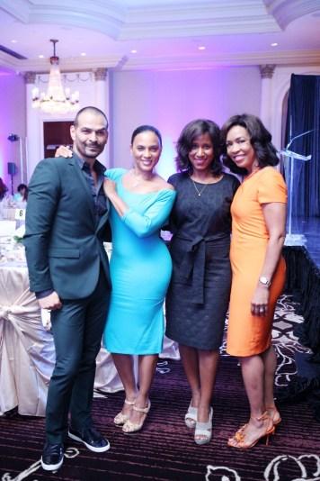 Todd Ramos, CleRenda McGrady, Joy Sewing and Gina Gaston