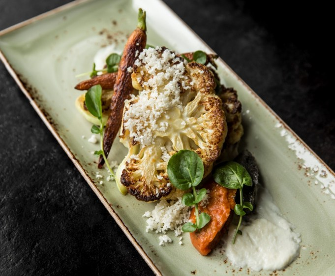 Charred Cauliflower Steak