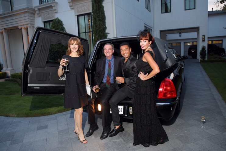 Vicki West, Ralph Burch, Quan and Staci Henderson