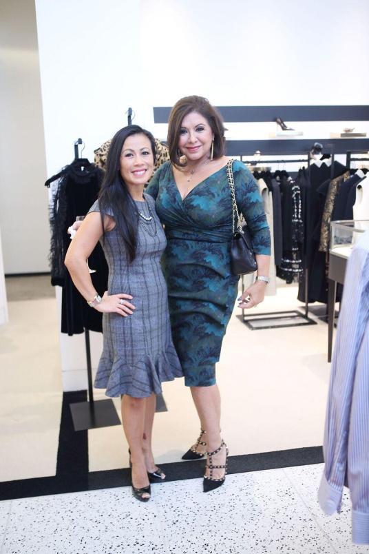 Chau Nguyen and Debbie Festari