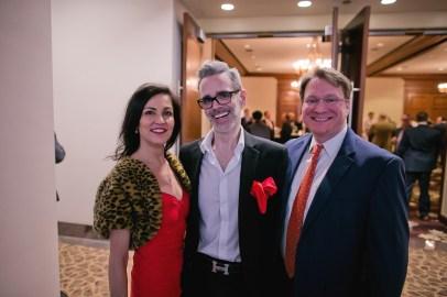 Jessica Rossman; Michael Pearce and Matt Burrus