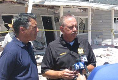 Sheriff praises volunteers and first responders