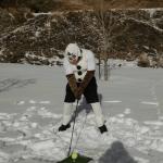 Ice Hole Golf Draws Big Crowd