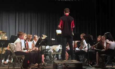 Local school bands, choir put on spring concert