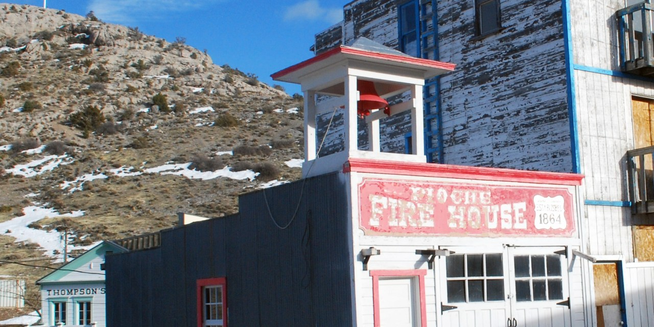 Old Pioche Fire House Added to National Register of Historic Places