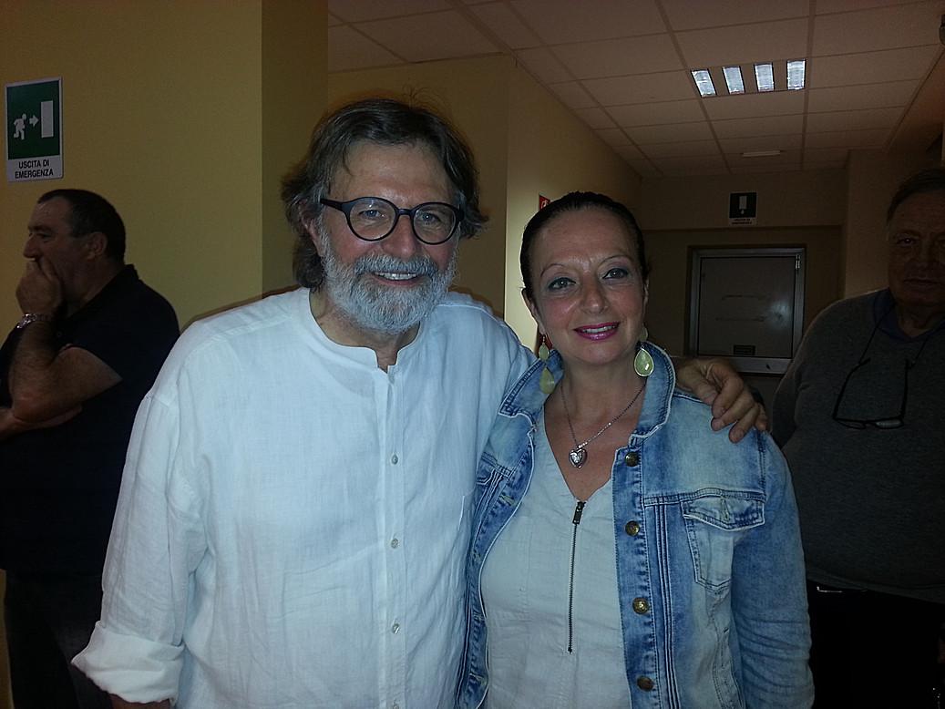Con Giorgio Cordini