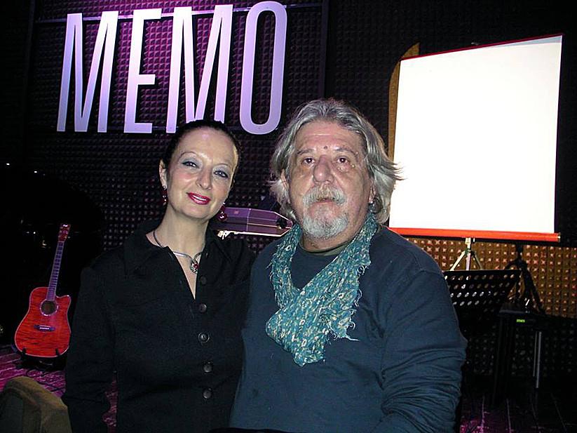 Con Tiziano Riverso