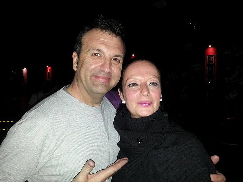 Con Franco Rossi