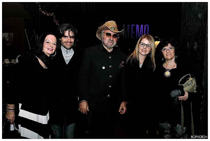 Con Pietruccio Montalbetti, Stella Bassani, Emiliano Paterlini e Maya Erika