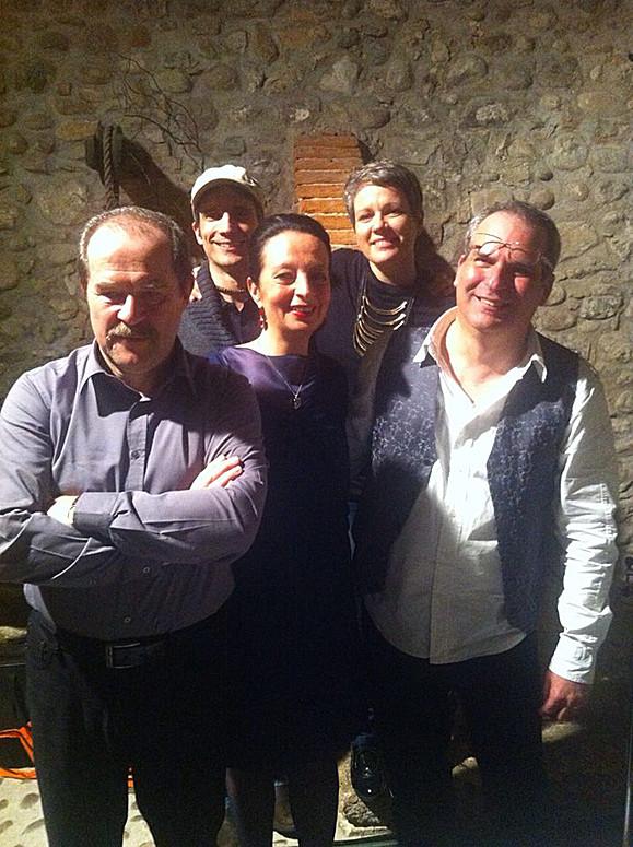 Con Luca Bonaffini, Marco Dieci, Mud e Emma Sereni
