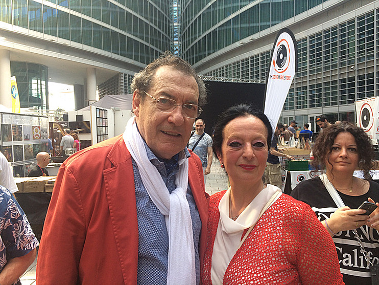 Con Jocelyn Hattab - FIM 2018