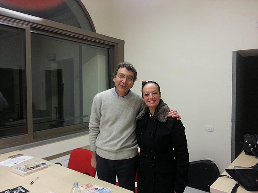 Con Mario Bonanno