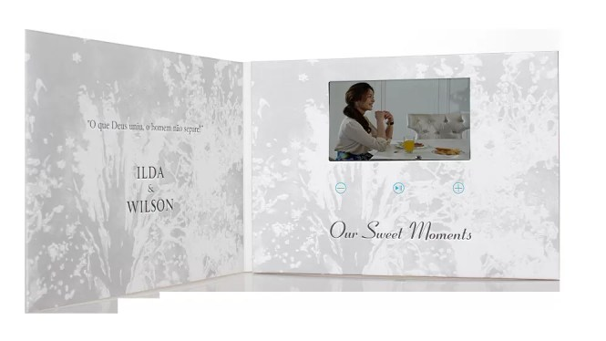 Video Wedding Invitations A Creative