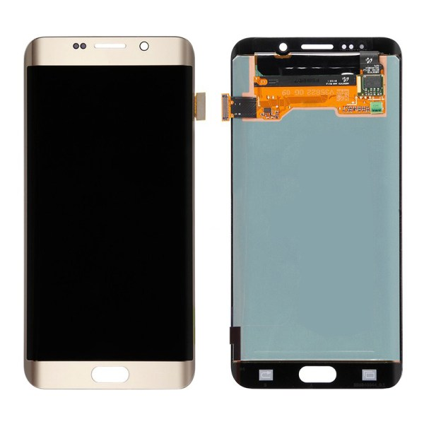 LCD Screen Replacement without frame for Samsung Galaxy S6 Edge Plus - Gold