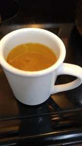 beef bone broth cup