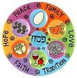 Seder plate graphic