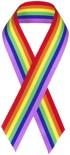gay pride flag graphic