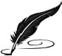 feather pen graphic