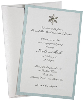 Winter Wonderland Wedding Invitations To Create A Beauteous Invitation Design With Appearance 9