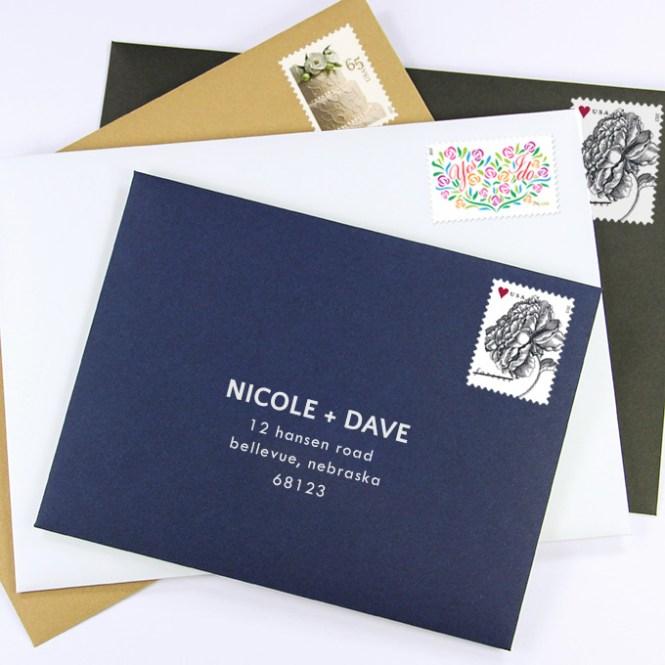 Envelope Addressing And Digital Calligraphy