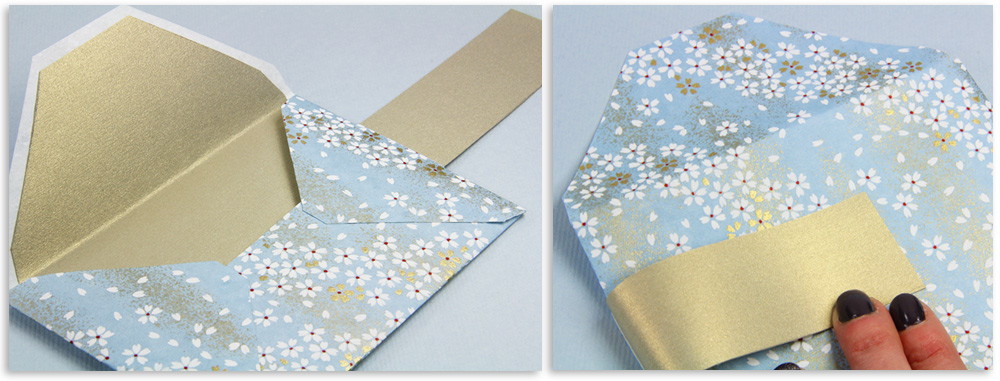 Make Your Own Patterned Envelopes Templates Instructions