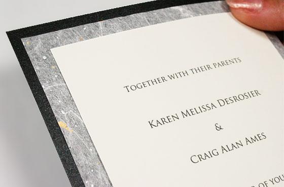 Navy And C Wedding Invitations