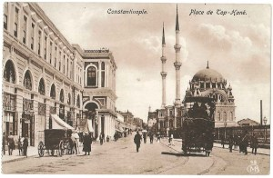 Istanbul c.1900 (still called Constantinople by many Europeans at that time)
