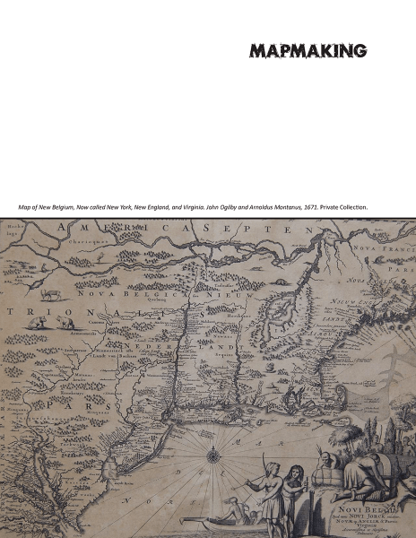 image of Mapmaking cover