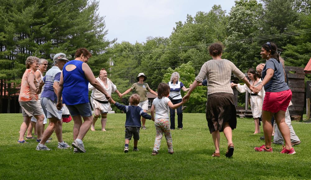 Image of Abenaki Dancing Circle