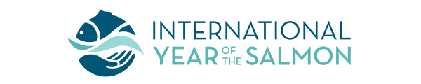 International Year of the Salmon logo. In 2019 LCMM is a leading participant in IYS in Vermont.