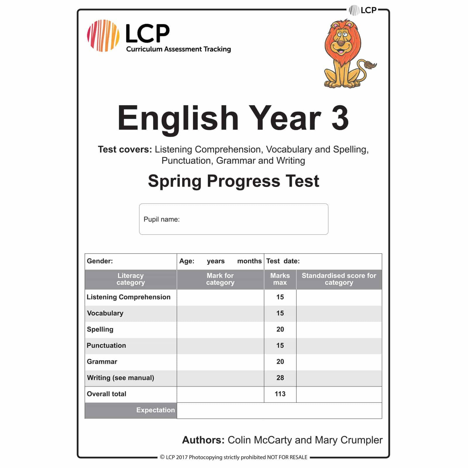 English Spring Year 3 Class Pack Of 30 Papers
