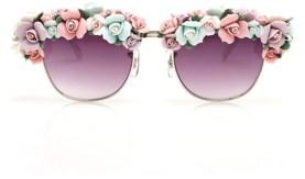 Rosey Glasses