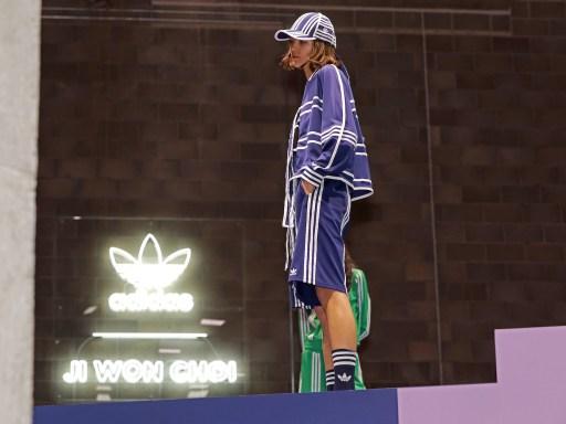 adidas Originals collaborates with Ji Won Choi at London Fashion Week