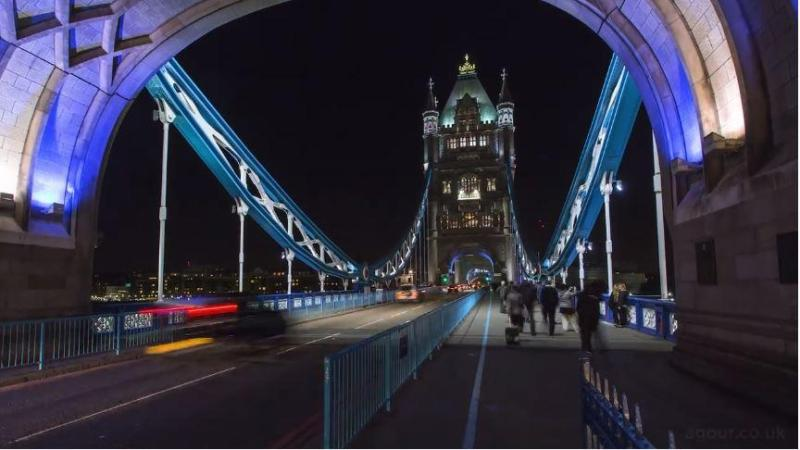 This Truly Stunning Timelapse Video shows the pace of London Life 6