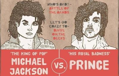 Prince vs Michael Jackson - 22nd February - Hackney Attic 22